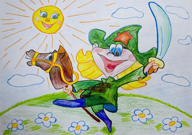 Красивые рисунки на 23 февраля для садика и школы risunok na 23 fevralya 92
