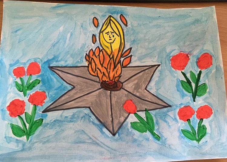 Красивые рисунки на 23 февраля для садика и школы risunok na 23 fevralya 95