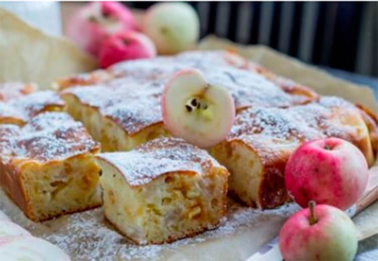 Как приготовить шарлотку с яблоками: вкусные проверенные рецепты sharlotka s yablokami recept 42