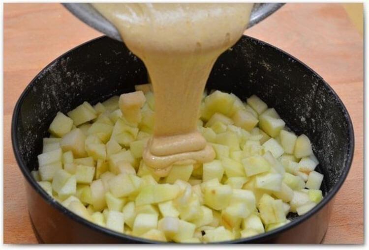 Как приготовить шарлотку с яблоками: вкусные проверенные рецепты sharlotka s yablokami recept 7