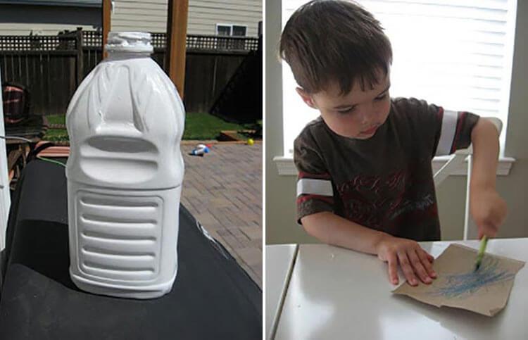 Как сделать ракету своими руками: поделка для сада и школы 133 134