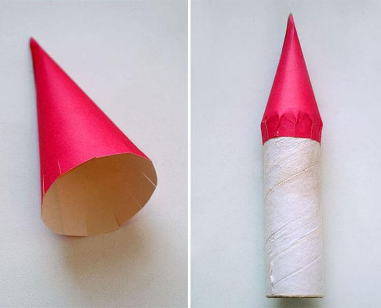 Как сделать ракету своими руками: поделка для сада и школы 5 6