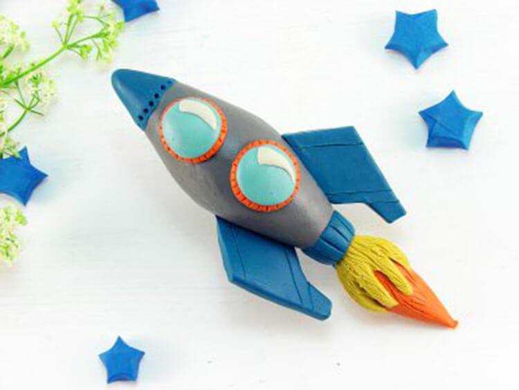 Как сделать ракету своими руками: поделка для сада и школы Podelka raketa 112