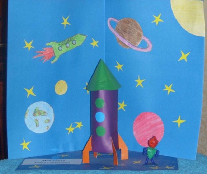 Как сделать ракету своими руками: поделка для сада и школы Podelka raketa 12