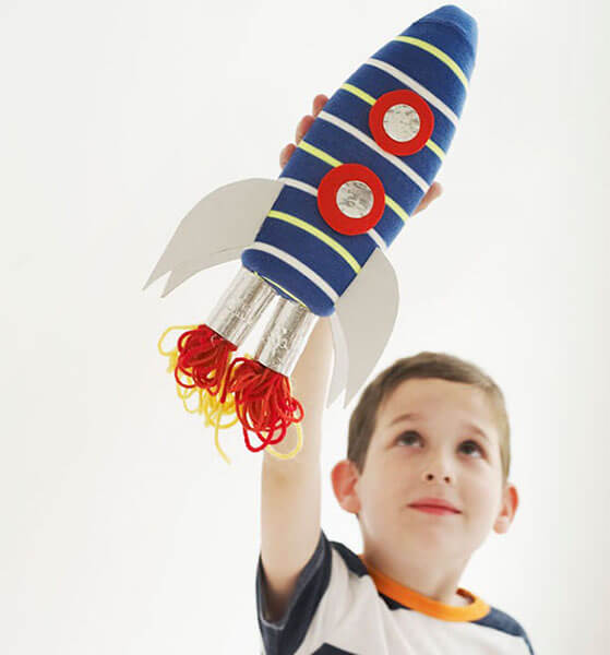 Как сделать ракету своими руками: поделка для сада и школы Podelka raketa 122