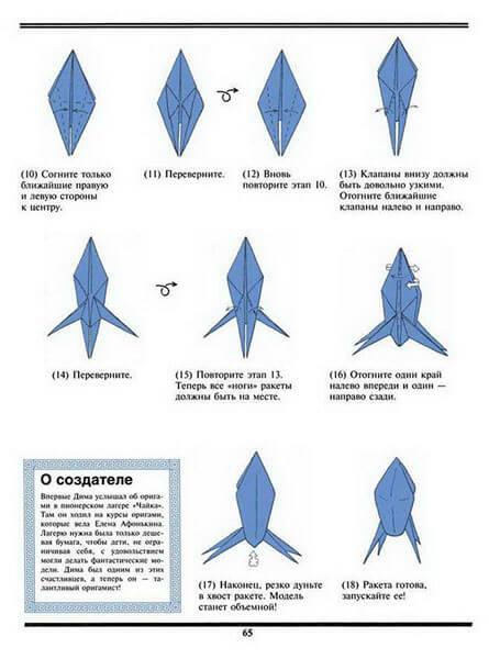Как сделать ракету своими руками: поделка для сада и школы Podelka raketa 32