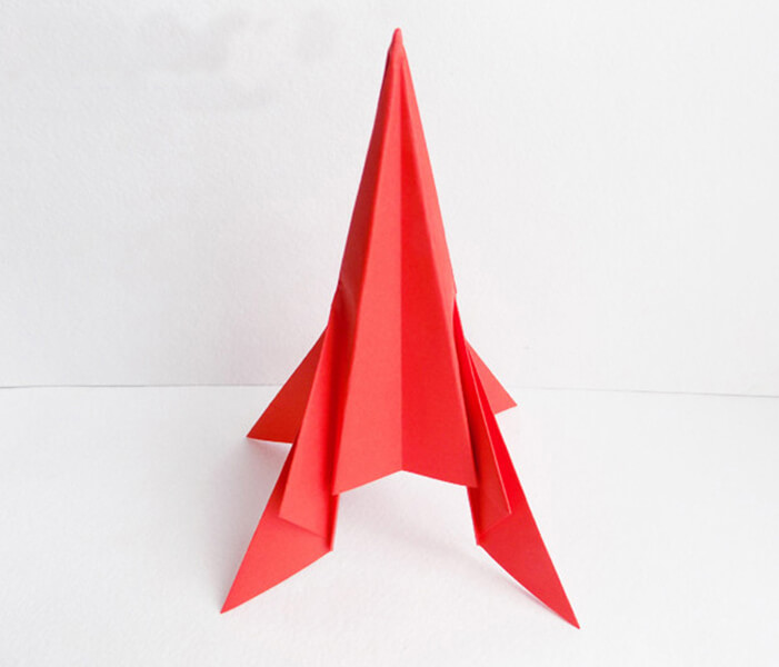 Как сделать ракету своими руками: поделка для сада и школы Podelka raketa 49