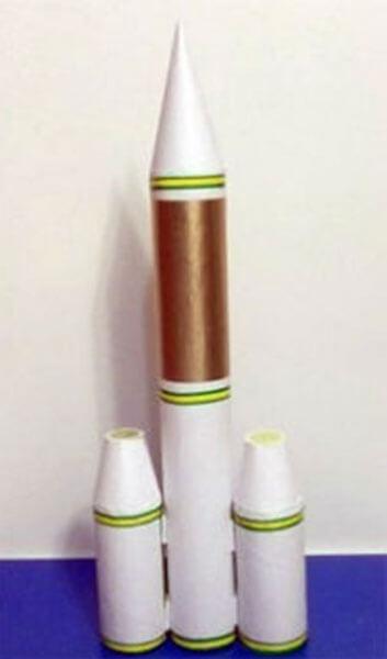 Как сделать ракету своими руками: поделка для сада и школы Podelka raketa 55