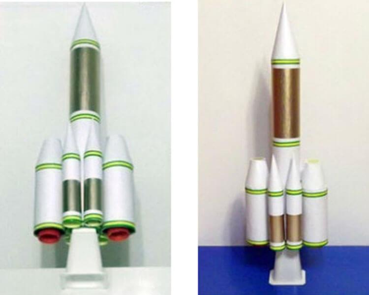 Как сделать ракету своими руками: поделка для сада и школы Podelka raketa 56
