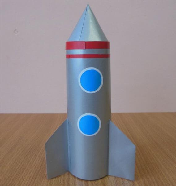 Как сделать ракету своими руками: поделка для сада и школы Podelka raketa 65