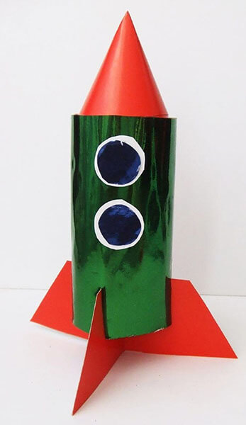 Как сделать ракету своими руками: поделка для сада и школы Podelka raketa 68