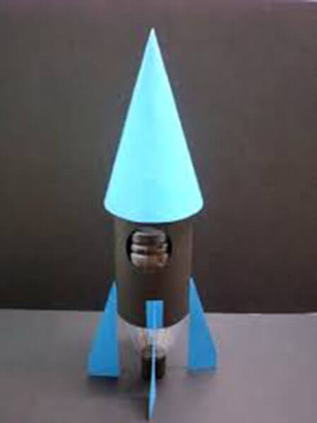 Как сделать ракету своими руками: поделка для сада и школы Podelka raketa 84
