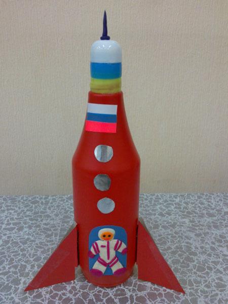 Как сделать ракету своими руками: поделка для сада и школы Podelka raketa 86