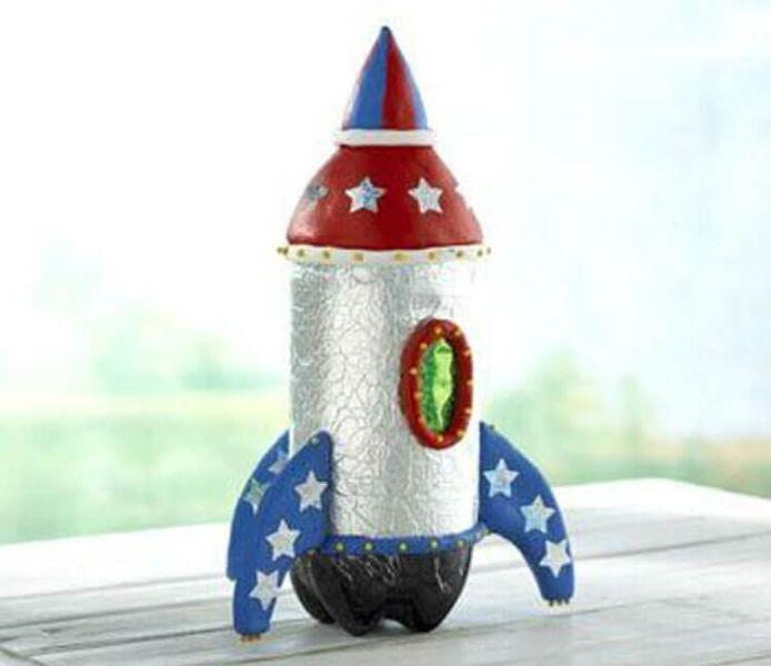 Как сделать ракету своими руками: поделка для сада и школы Podelka raketa 87