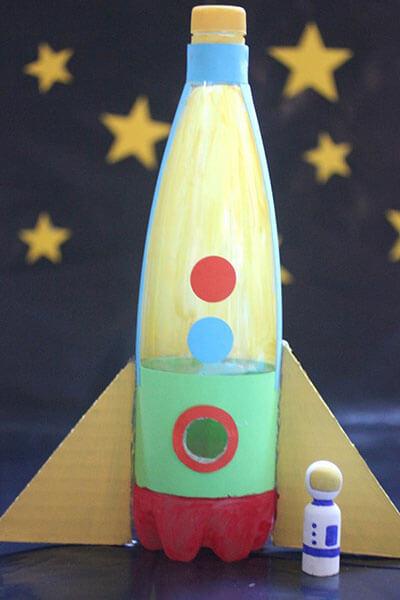 Как сделать ракету своими руками: поделка для сада и школы Podelka raketa 88