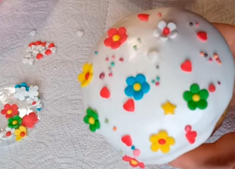 Глазурь для пасхальных куличей: проверенные рецепты, которые не осыпаются glazur dlya kulicha paskhalnogo 9