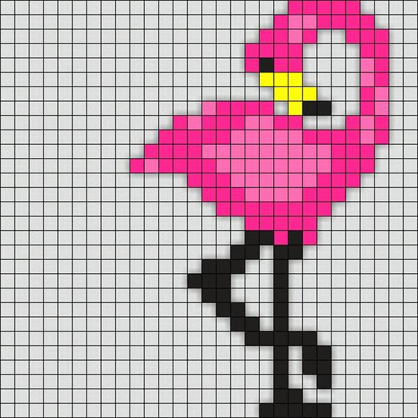Красивые и простые рисунки по клеточкам в тетради для начинающих graficheskie risunki po kletochkam 131
