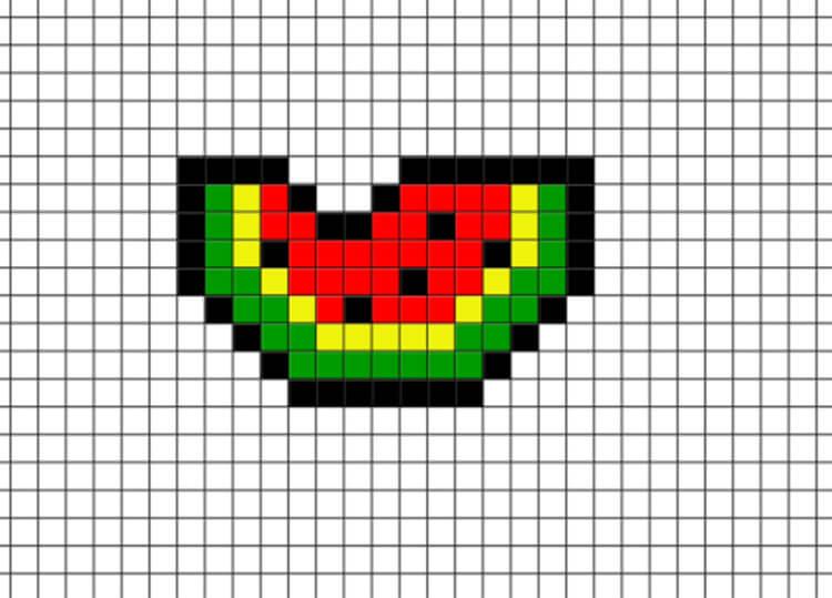 Красивые и простые рисунки по клеточкам в тетради для начинающих graficheskie risunki po kletochkam 149