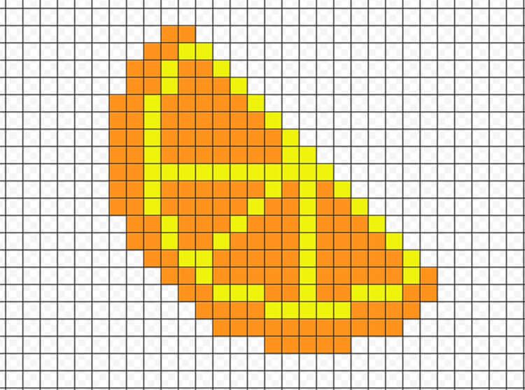 Красивые и простые рисунки по клеточкам в тетради для начинающих graficheskie risunki po kletochkam 157