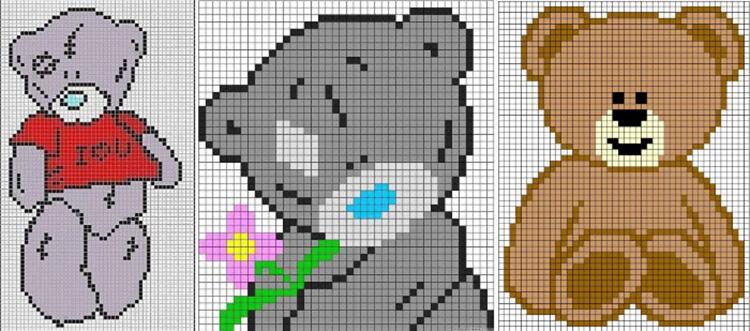 Красивые и простые рисунки по клеточкам в тетради для начинающих graficheskie risunki po kletochkam 173