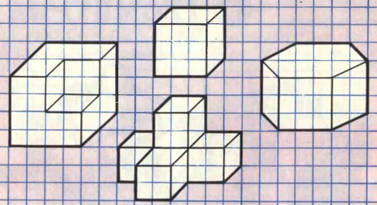 Красивые и простые рисунки по клеточкам в тетради для начинающих graficheskie risunki po kletochkam 174