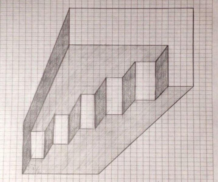Красивые и простые рисунки по клеточкам в тетради для начинающих graficheskie risunki po kletochkam 176