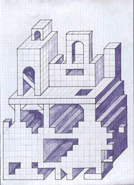 Красивые и простые рисунки по клеточкам в тетради для начинающих graficheskie risunki po kletochkam 178