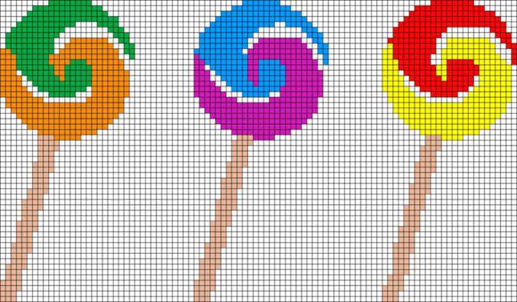 Красивые и простые рисунки по клеточкам в тетради для начинающих graficheskie risunki po kletochkam 21