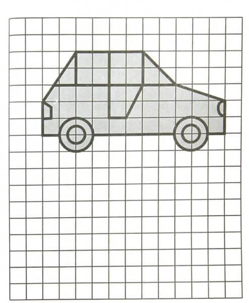 Красивые и простые рисунки по клеточкам в тетради для начинающих graficheskie risunki po kletochkam 32