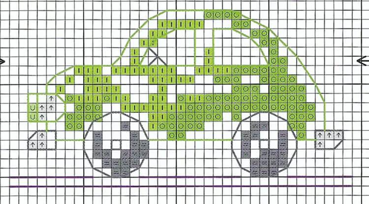 Красивые и простые рисунки по клеточкам в тетради для начинающих graficheskie risunki po kletochkam 33