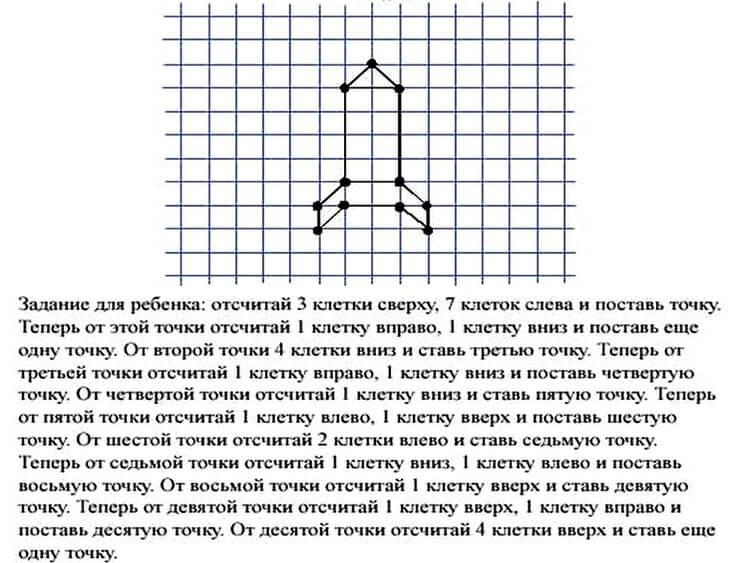Красивые и простые рисунки по клеточкам в тетради для начинающих graficheskie risunki po kletochkam 6