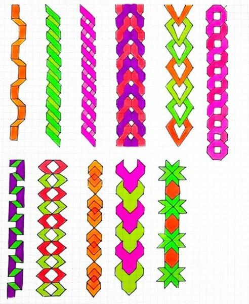 Красивые и простые рисунки по клеточкам в тетради для начинающих graficheskie risunki po kletochkam 61