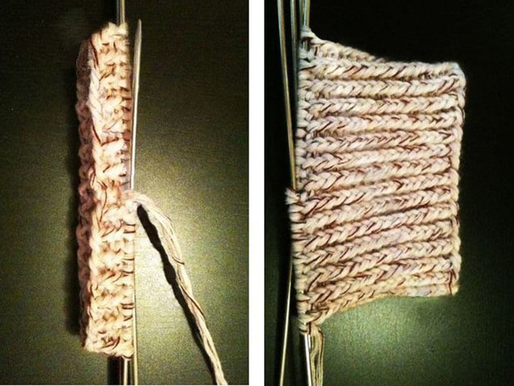 Как связать манишку спицами, которая защитит вас от холода kak svyazat spicami manishku 12