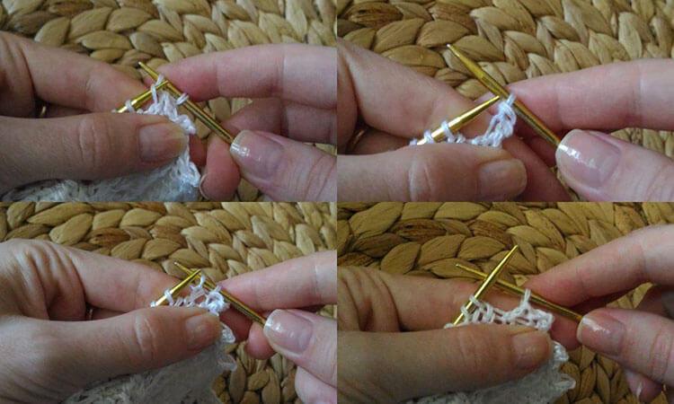 Как связать манишку спицами, которая защитит вас от холода kak svyazat spicami manishku 26