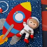 Интересные поделки для школы и садика на день Космонавтики