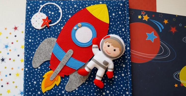 Интересные поделки для школы и садика на день Космонавтики podelki svoimi rukami ko dnyu kosmonavtiki 1