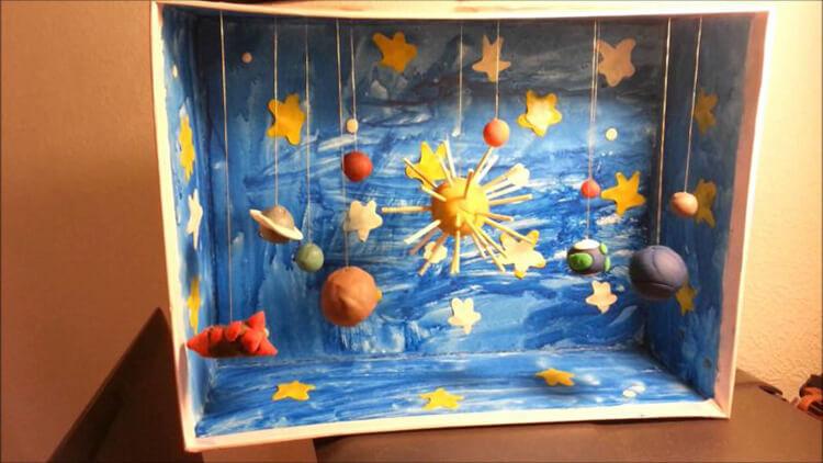 Интересные поделки для школы и садика на день Космонавтики podelki svoimi rukami ko dnyu kosmonavtiki 17