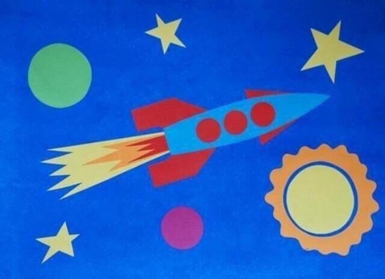 Интересные поделки для школы и садика на день Космонавтики podelki svoimi rukami ko dnyu kosmonavtiki 38
