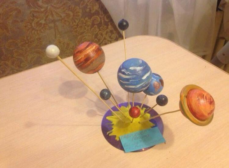 Интересные поделки для школы и садика на день Космонавтики podelki svoimi rukami ko dnyu kosmonavtiki 85