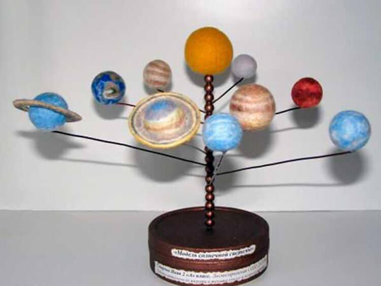 Интересные поделки для школы и садика на день Космонавтики podelki svoimi rukami ko dnyu kosmonavtiki 87