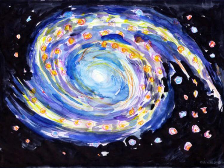 Как нарисовать рисунок на день космонавтики для сада и школы risunok na den kosmonavtiki dlya detej 104