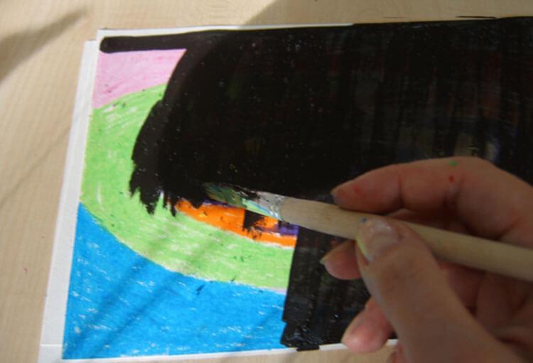 Как нарисовать рисунок на день космонавтики для сада и школы risunok na den kosmonavtiki dlya detej 42