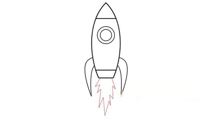 Как нарисовать рисунок на день космонавтики для сада и школы risunok na den kosmonavtiki dlya detej 54