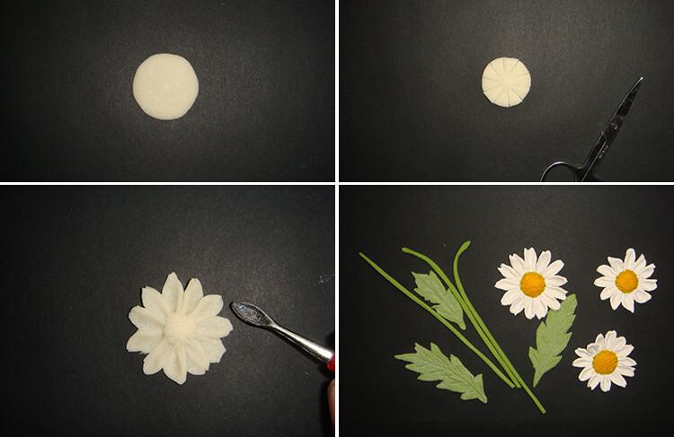 Делаем цветок ромашка своими руками из различных материалов 180 183