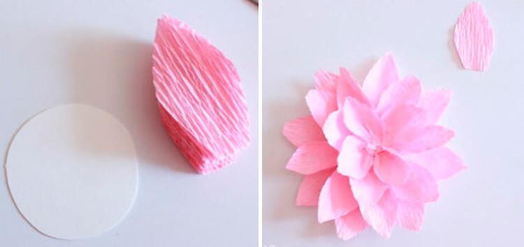 Пион своими руками: как сделать цветок различными способами 27 28 4