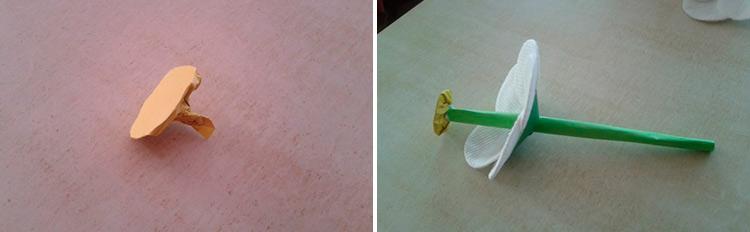 Делаем цветок ромашка своими руками из различных материалов 59 60 1