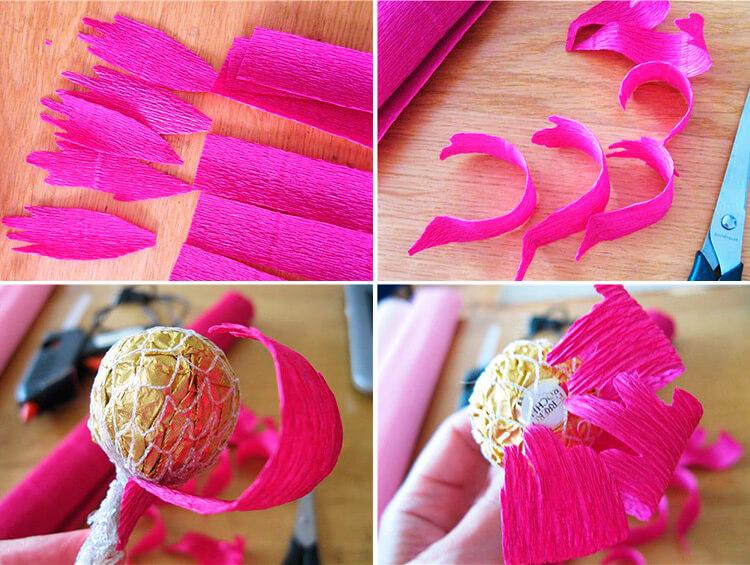 Пион своими руками: как сделать цветок различными способами 59 62 2