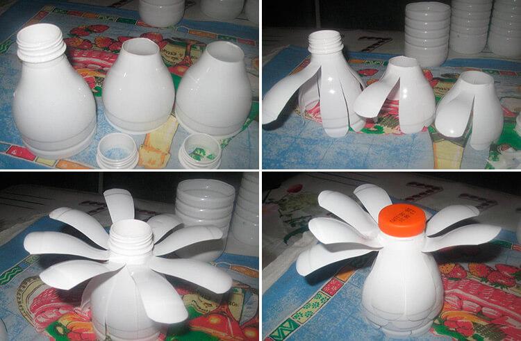 Делаем цветок ромашка своими руками из различных материалов 69 72