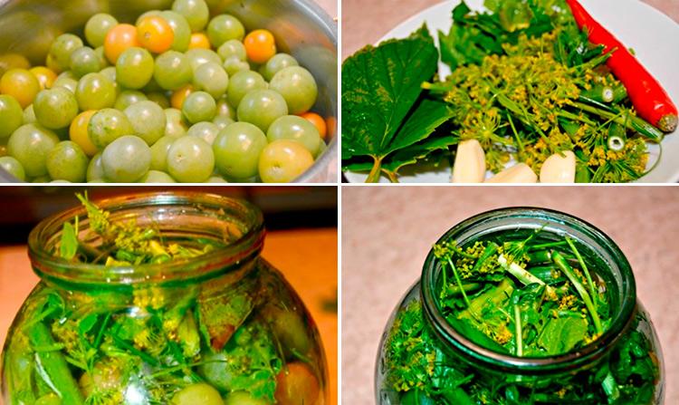 Как приготовить зеленые помидоры на зиму: рецепты пальчики оближешь 7 20