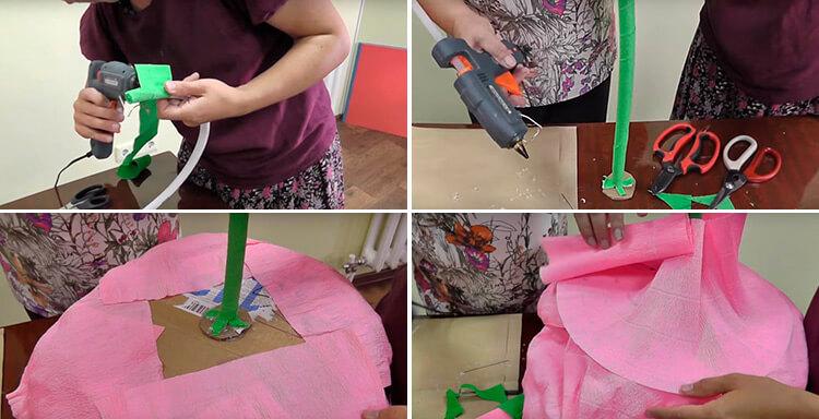 Пион своими руками: как сделать цветок различными способами 95 98 1